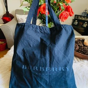 Authentic Burberry London tote/shopping bag